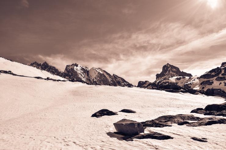 Palisade Glacier - Thunderbolt Peak-22